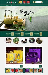 A-171-2精品国风-食品、茶叶、茶具类行业通用旺铺专业版模板